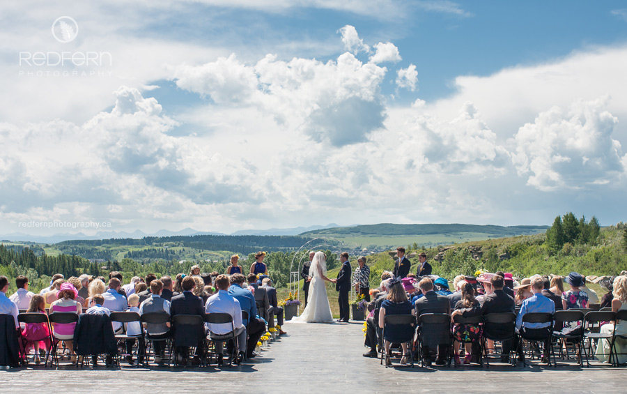 Cochrane Ranchehouse Outdoor Ceremony
