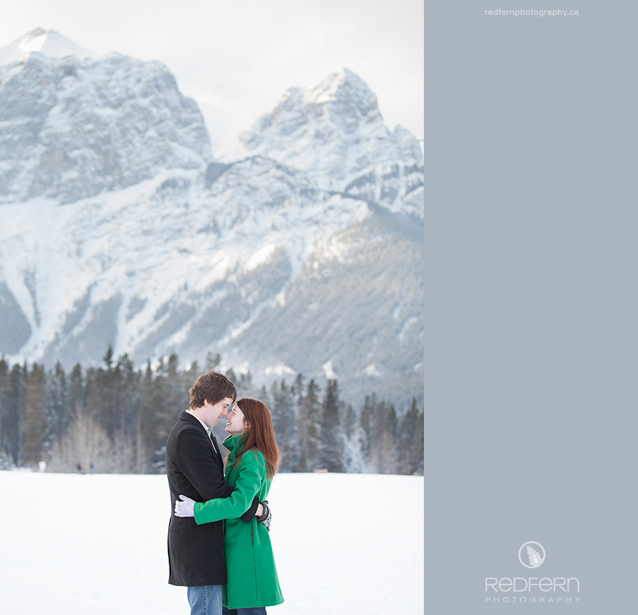 Rocky Mountains Engagement Photographer Canmore