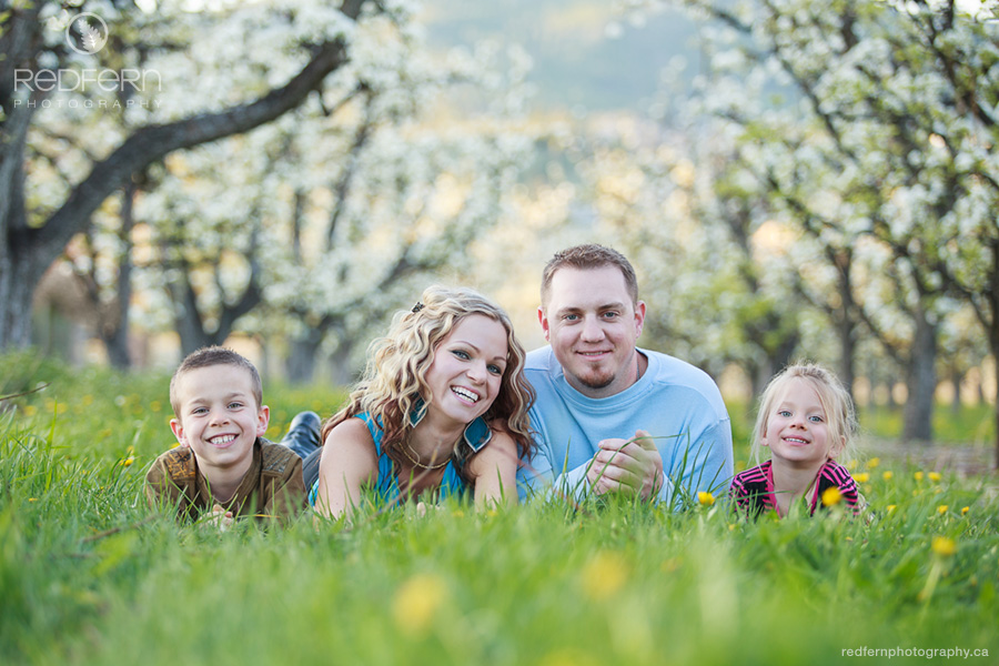 kelowna_family_photo_in_orchard_spring