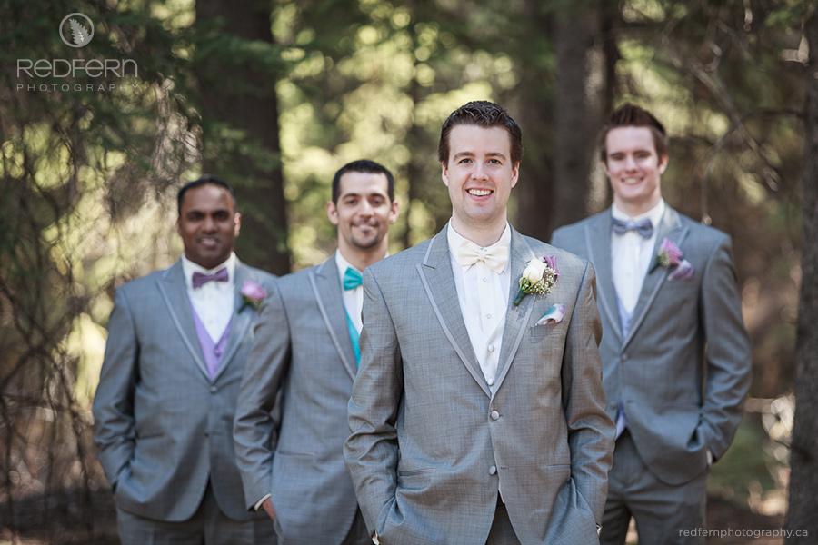 Groom and groomsmen photo
