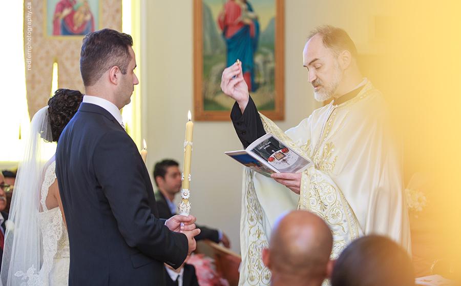 Kelowna Wedding ukrainian orthodox church ceremony