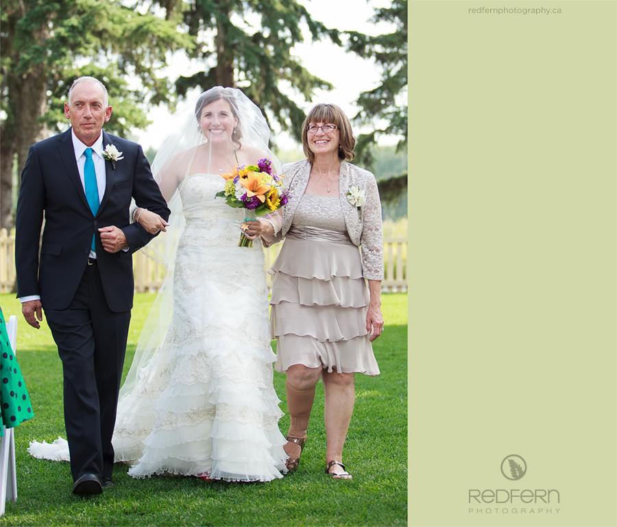 outdoor wedding the ranche calgary
