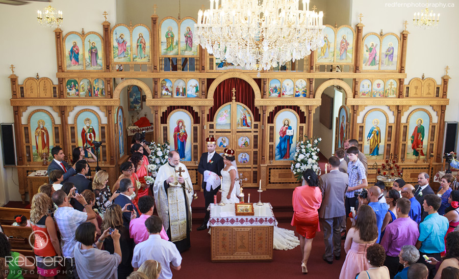 Kelowna Wedding ukrainian orthodox church ceremony photos