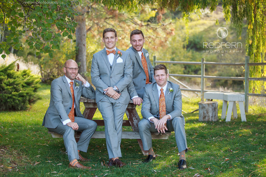 summerhill winery kelowna wedding gray suits_groomsmen