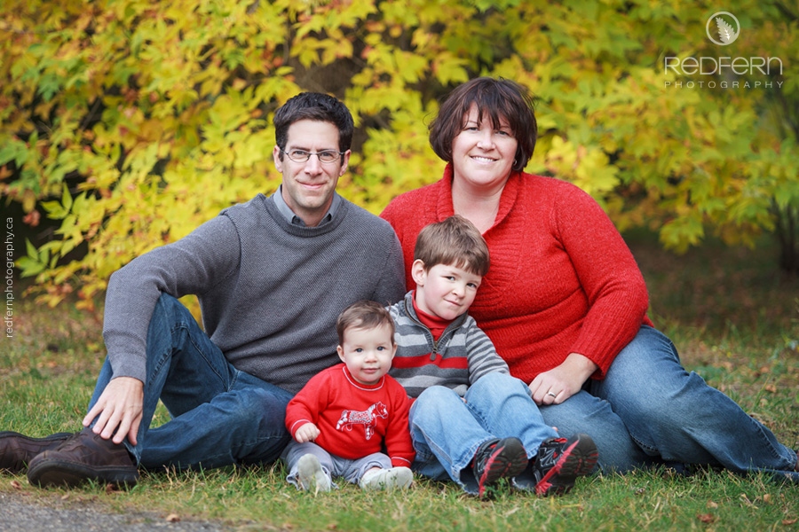 Professional Family Photos in Calgary Baker Park