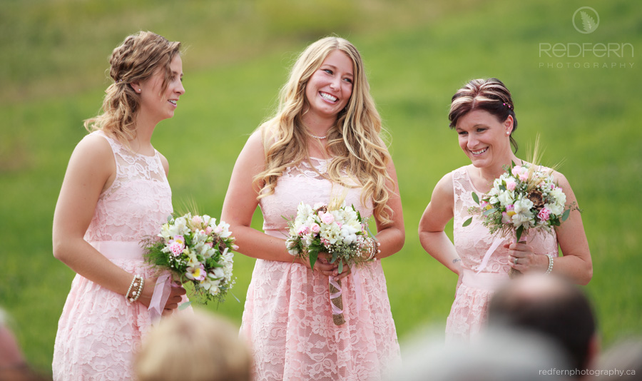 pink lace bridesmaid dresses summer wedding