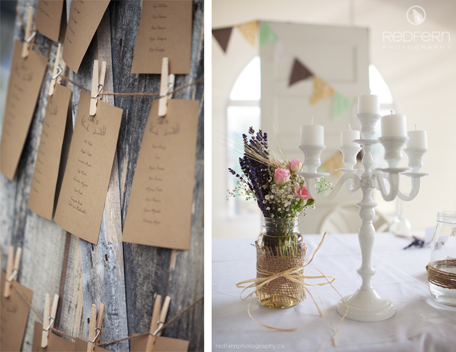 rustic wedding decor barn wood