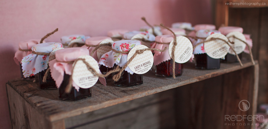 jam wedding favours spread the love