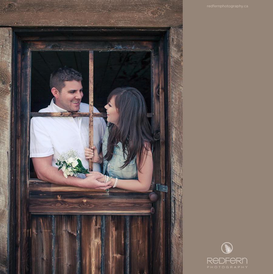door frame engagement photos calgary