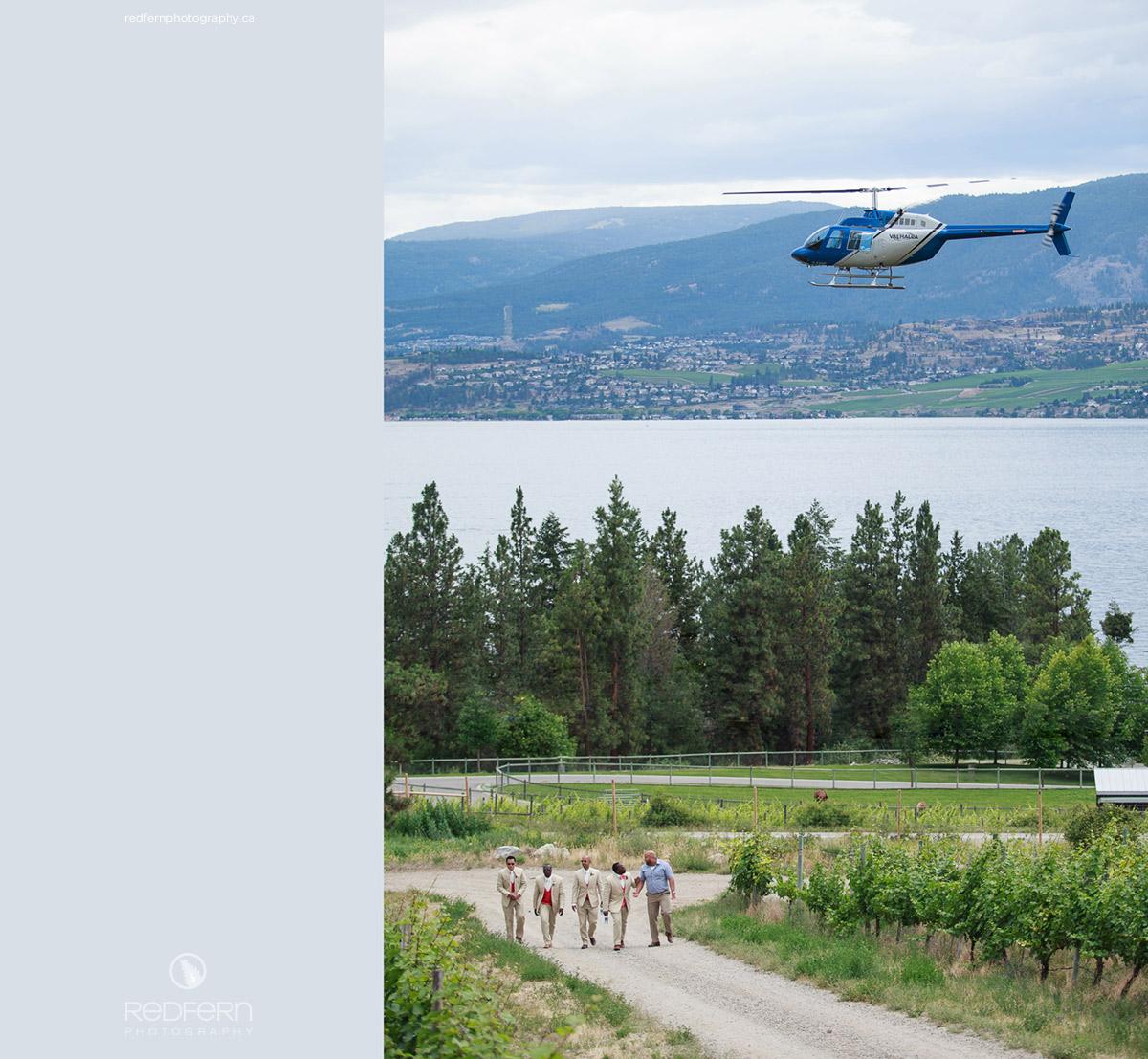 summerhill_winery_helicopter_groomsmen_vineyard