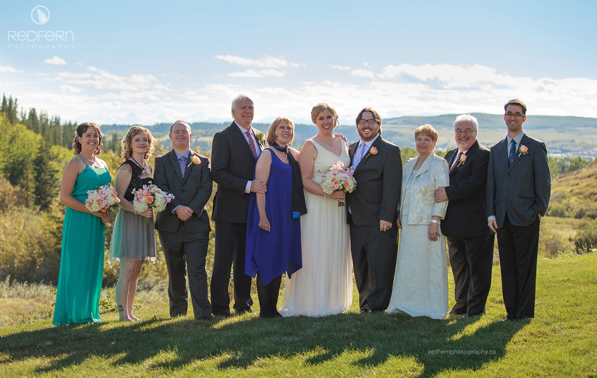 cochrane ranchehouse wedding family pictures