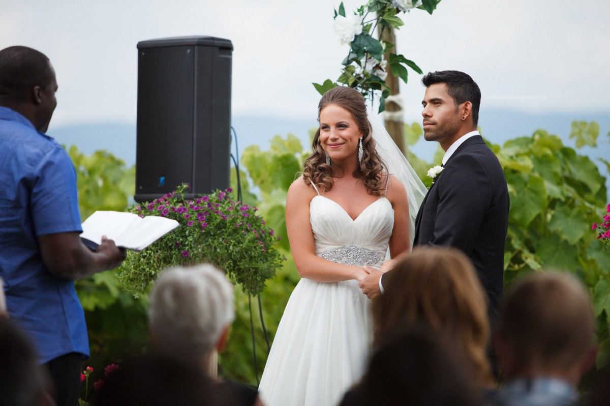 kelowna outdoor wedding ceremony farm orchard