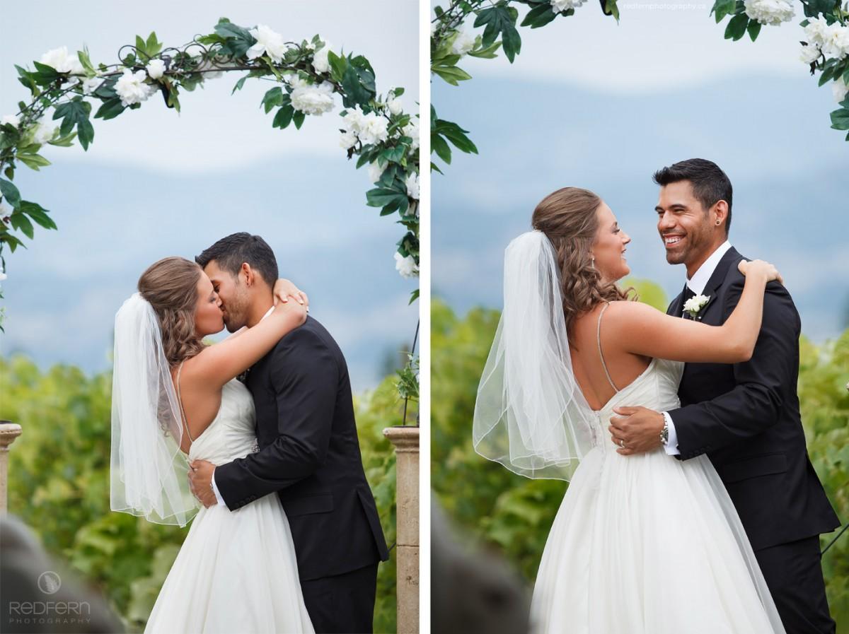 kelowna outdoor wedding ceremony farm orchard
